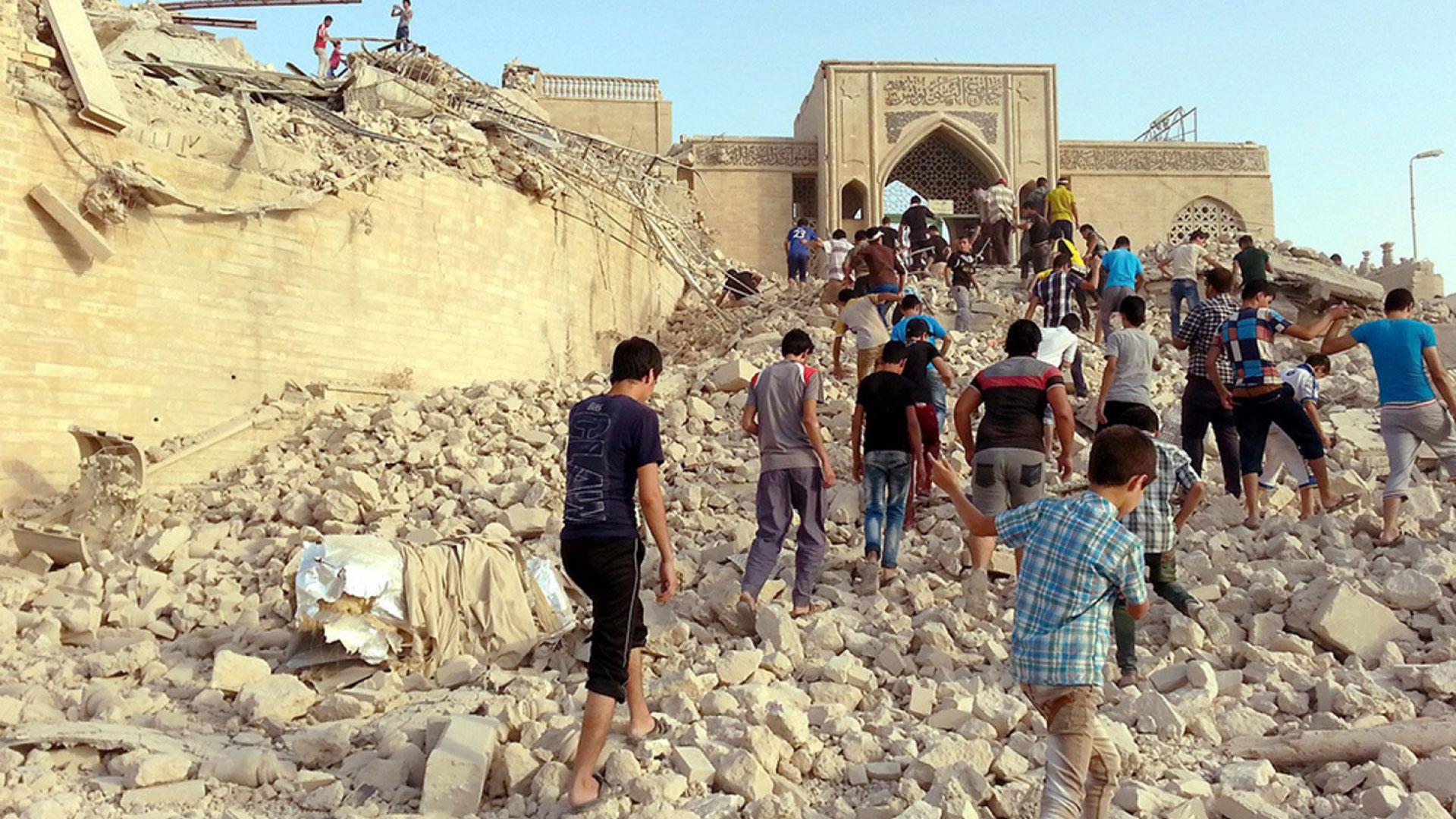El Estado Islámico destruyó en 2014 la tumba de Jonás