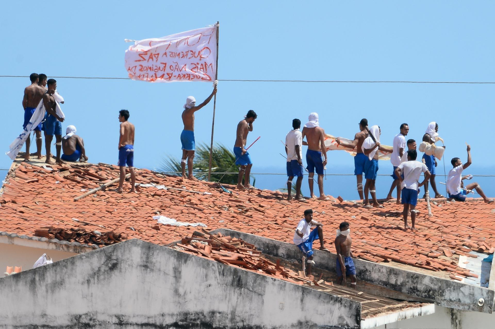 En la cárcel de Alcaçuz este domingo murieron 26 reclusos