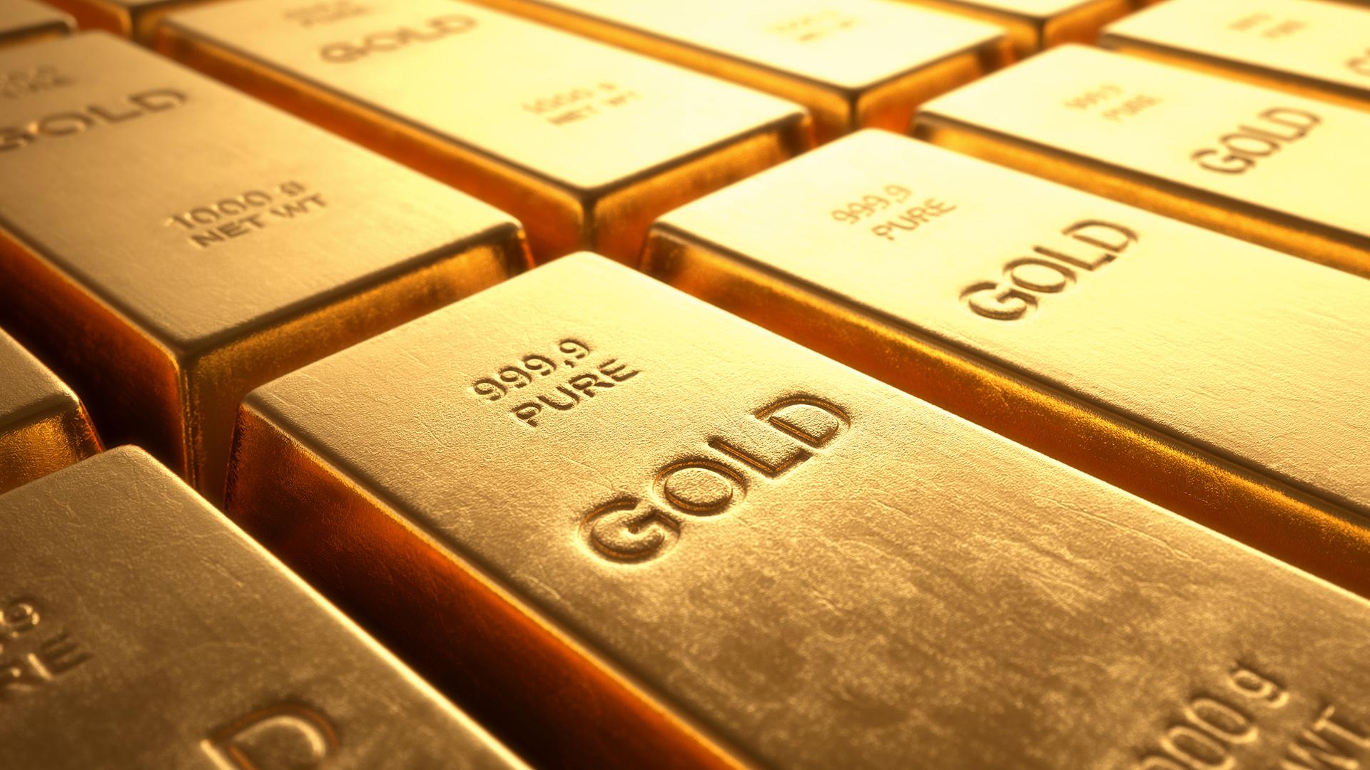 Las reservas de oro venezolano están siendo liquidadas por el régimen chavista (iStock)