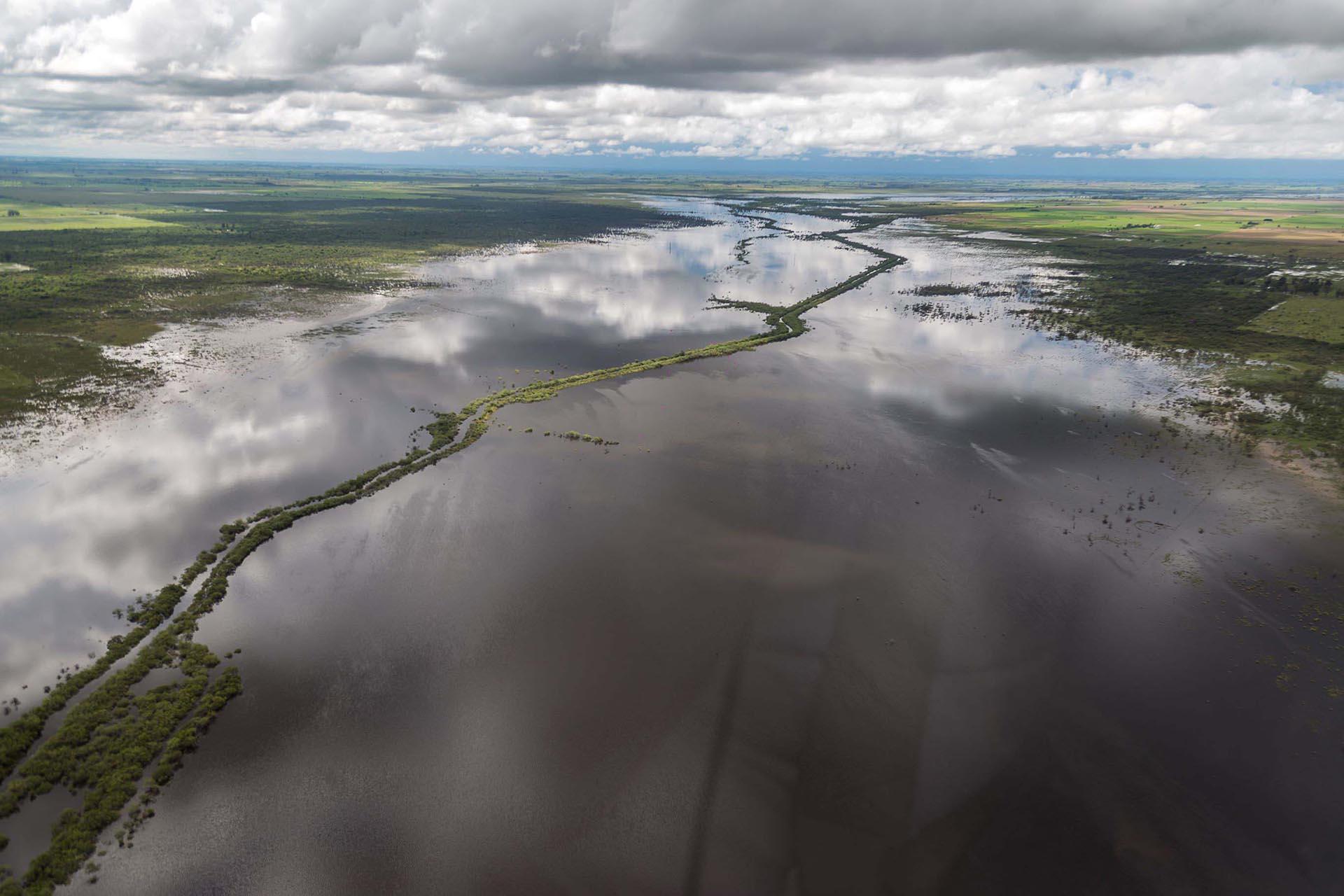 La ciudad de Arroyo Seco fue la más afectada, donde incluso se llegó a inundar el centro de evacuados