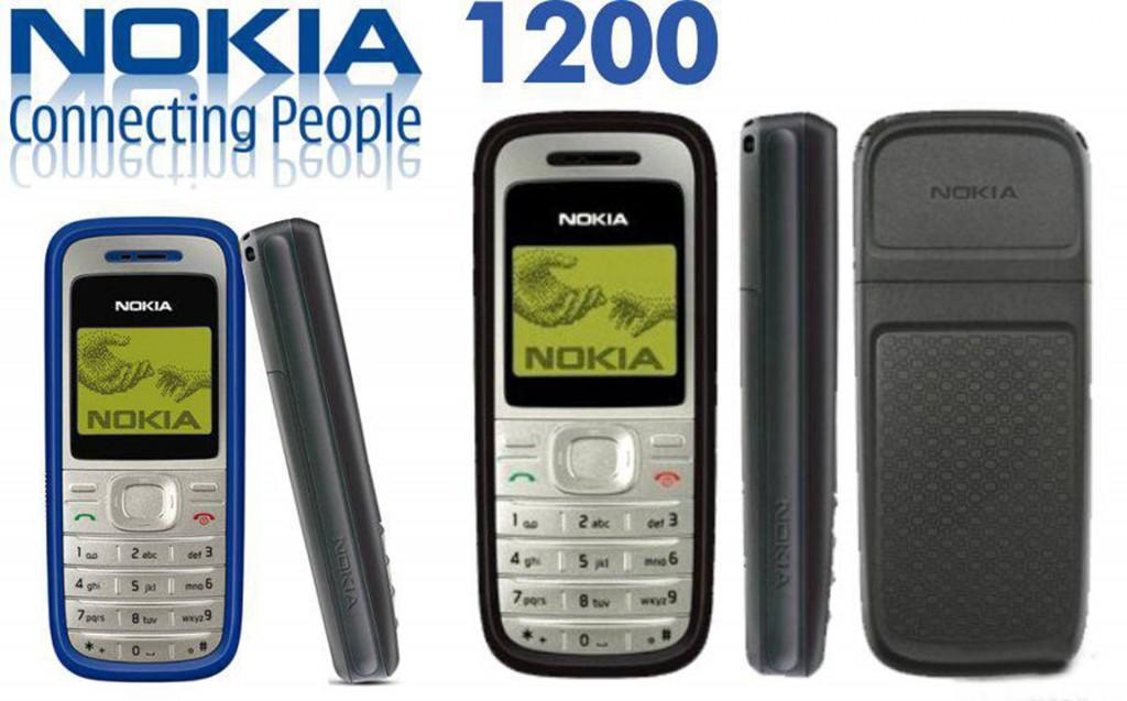 celulares SF 04 Nokia 1200