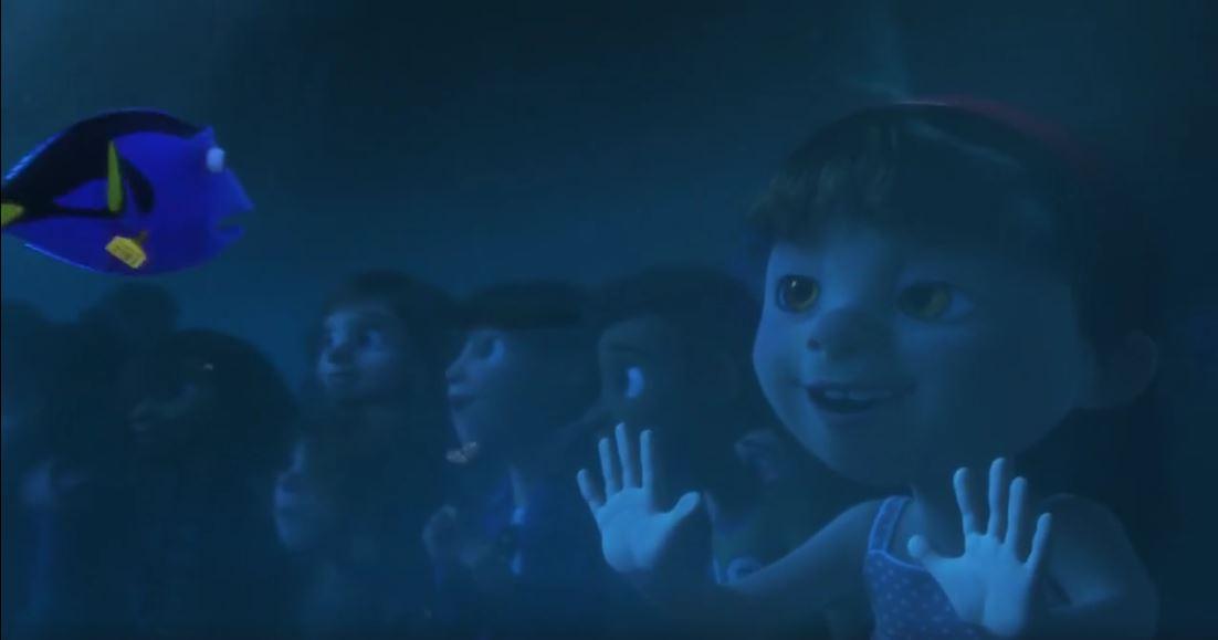 La primera niña desde la izquierda es Riley Andersen, quien será la protagonista en Intensa-mente