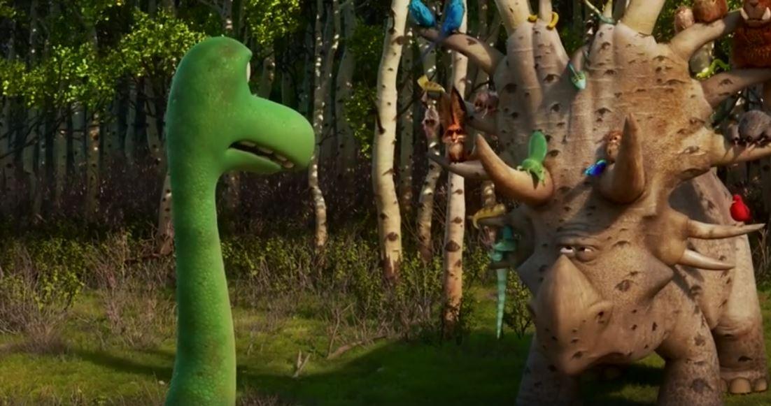En Un gran dinosaurio, el mismo animal