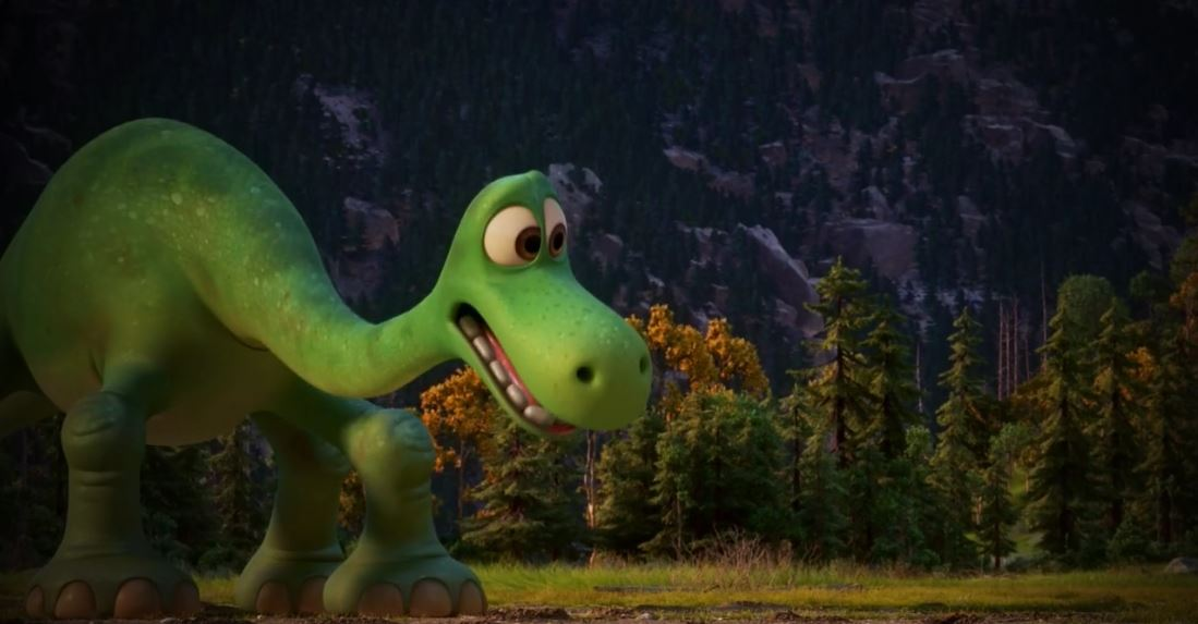 Arlo, protagonistas de Un Gran Dinosaurio