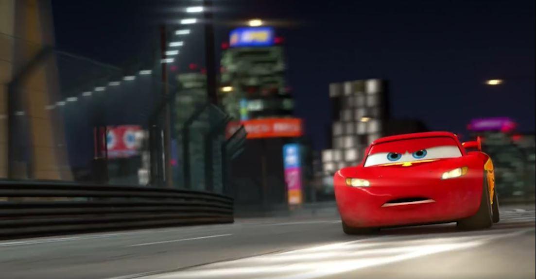 El Rayo McQueen, de Cars