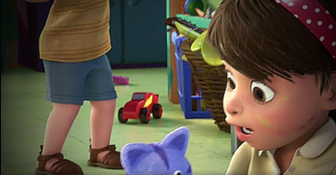 El Rayo McQueen, en Toy Story