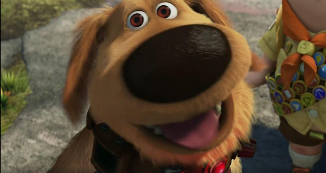 Dug, el perro que habla…