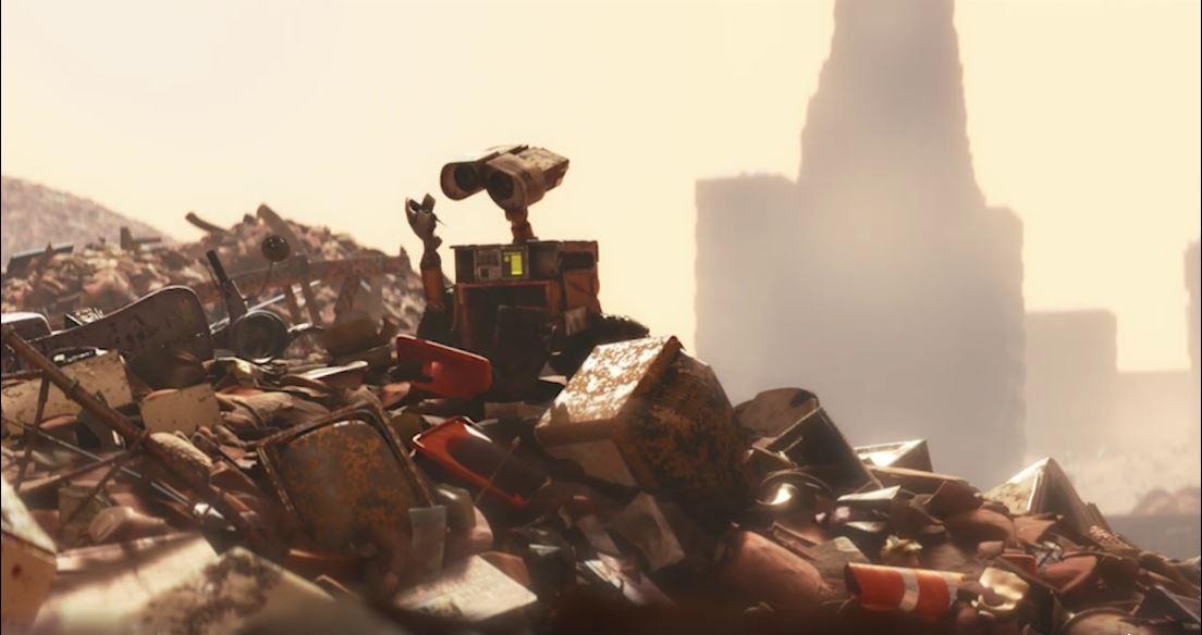La motocicleta que alguna vez perteneció a Skinner aparece en WALL-E, en el año 2815