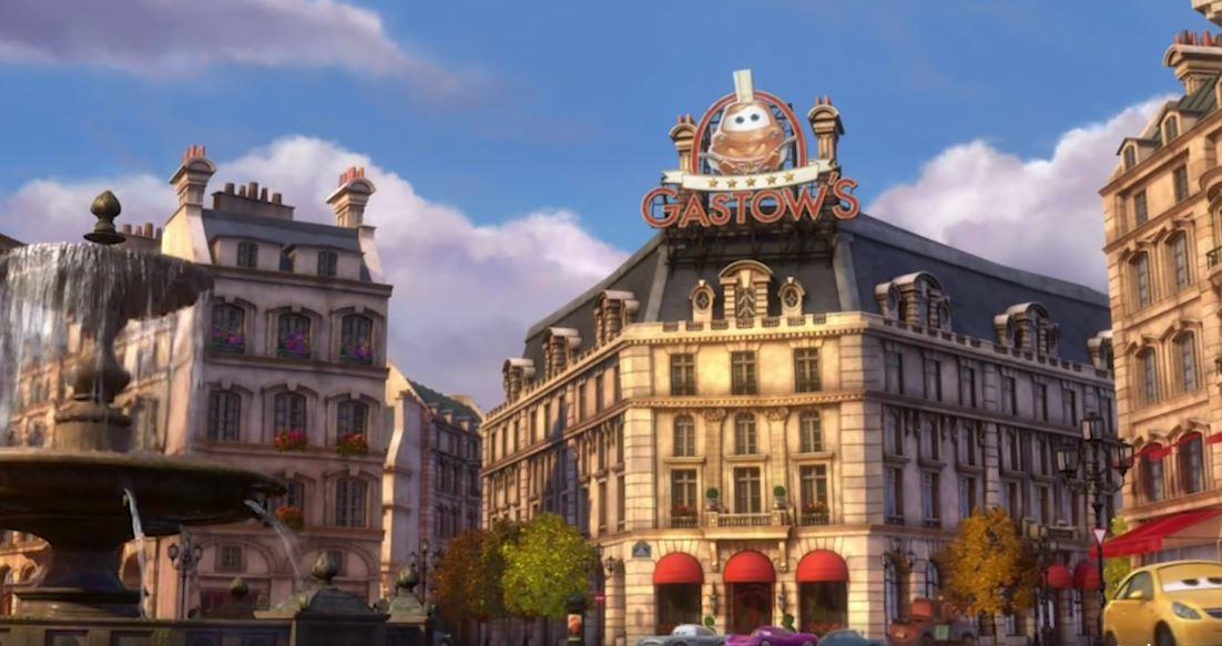 Similar al de Gusteau, en Cars aparece el de Gastow