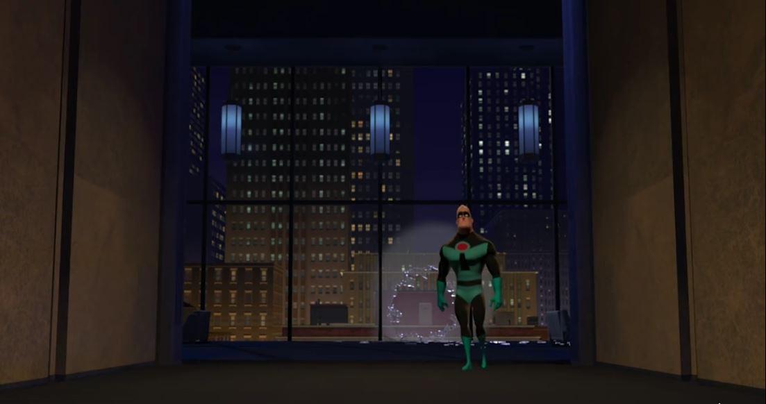 Robert Bob Parr, con su traje alternativo