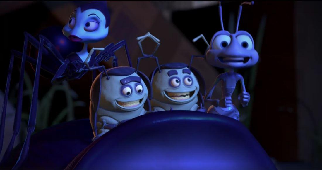 Flik en Bichos, un éxito de Pixar