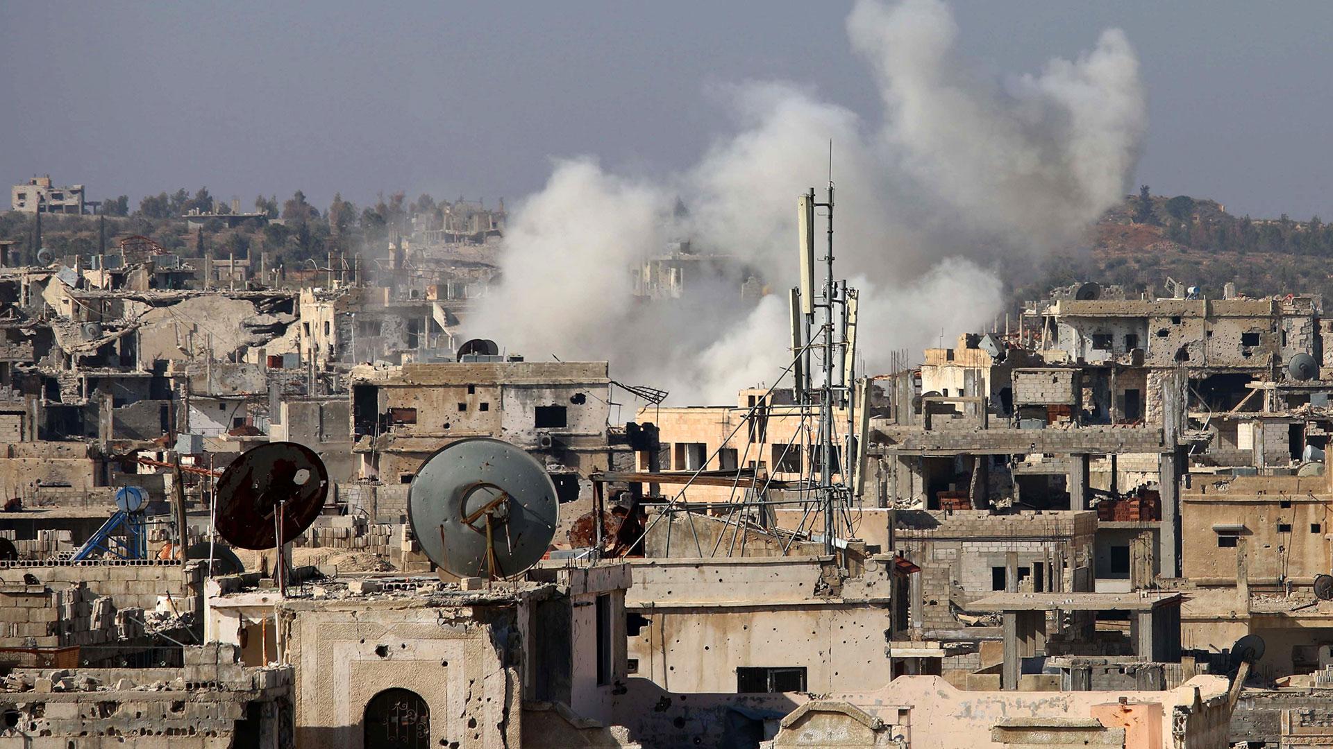 """Moscú calificó la operación conjunta con Turquía como """"eficaz"""" (AFP)"""
