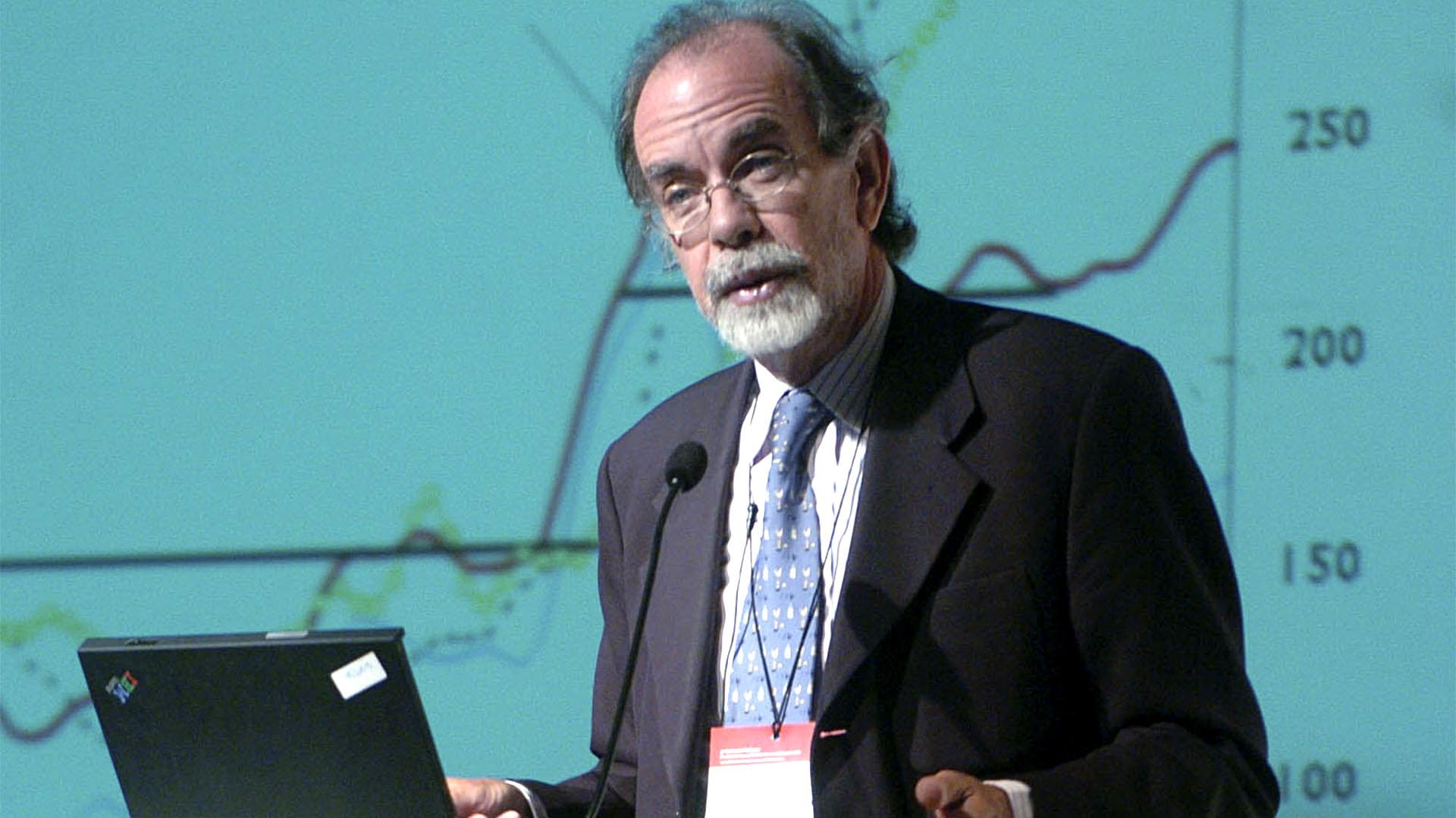 Javier González Fraga, presidente del Banco Nación. (Télam)