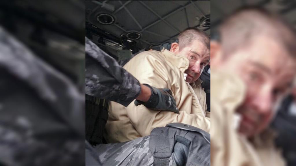 La primera imagen de la extradición de Guzmán