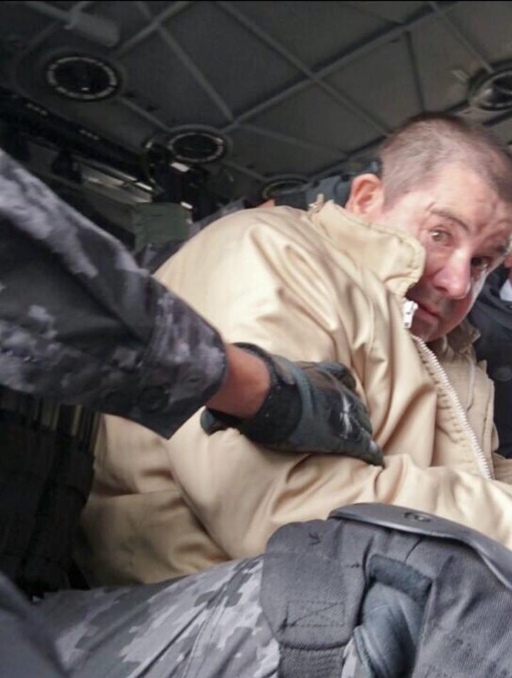 """Joaquín """"El Chapo"""" Guzmán Loera es trasladado a los Estados Unidos, donde será juzgado por narcotráfico"""