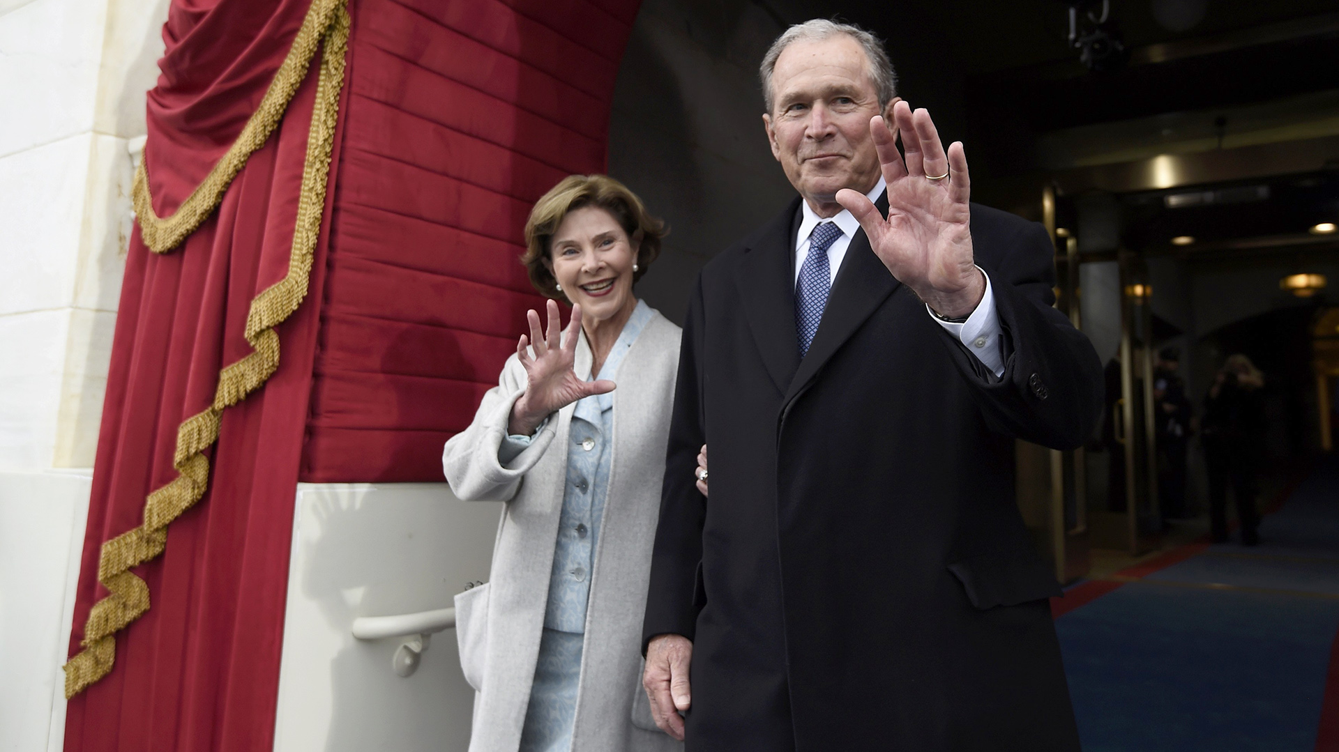 George y Laura Bush (Reuters)