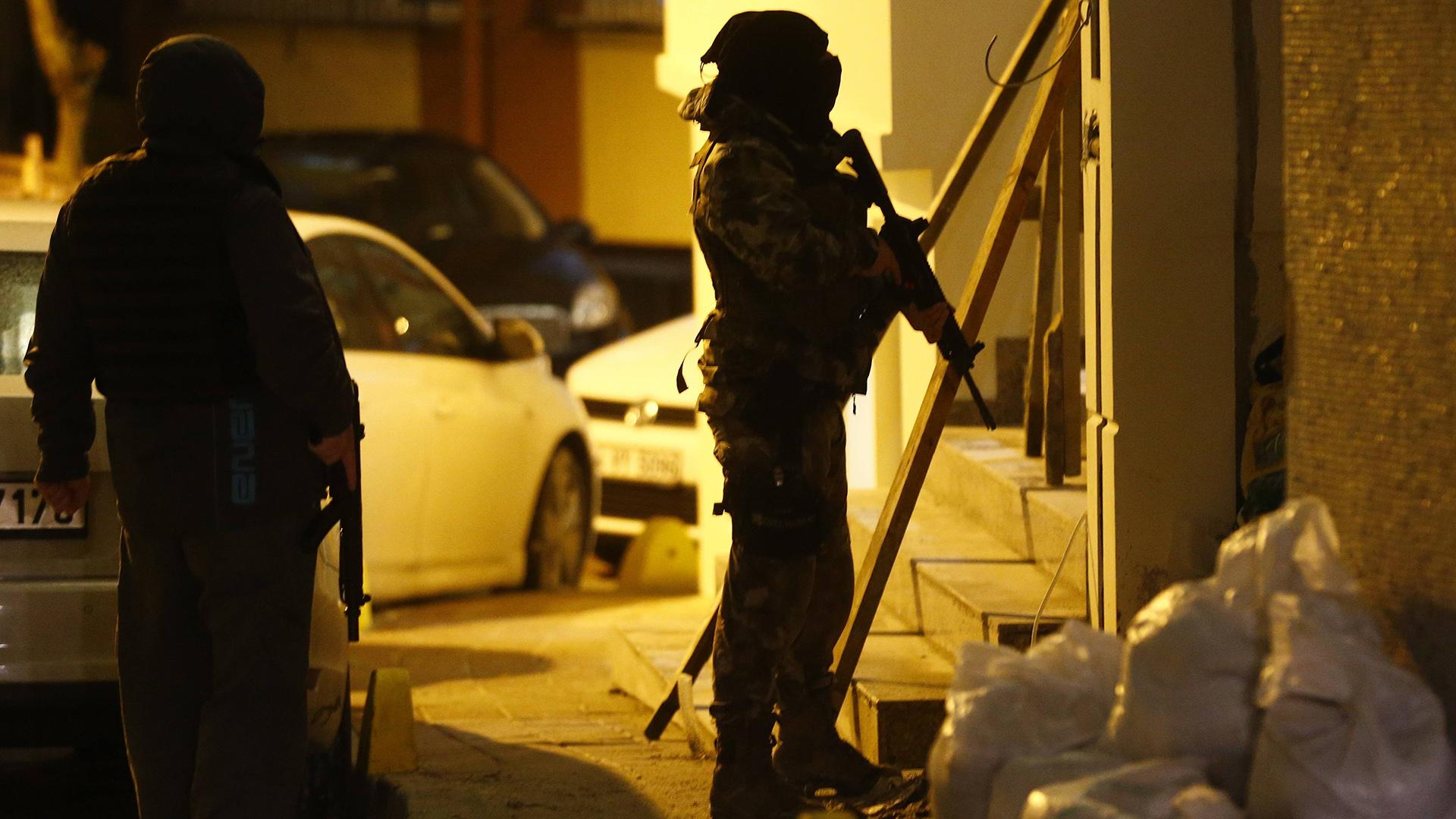 Hubo 15 operativos policiales en la ciudad de Estambul (Reuters)