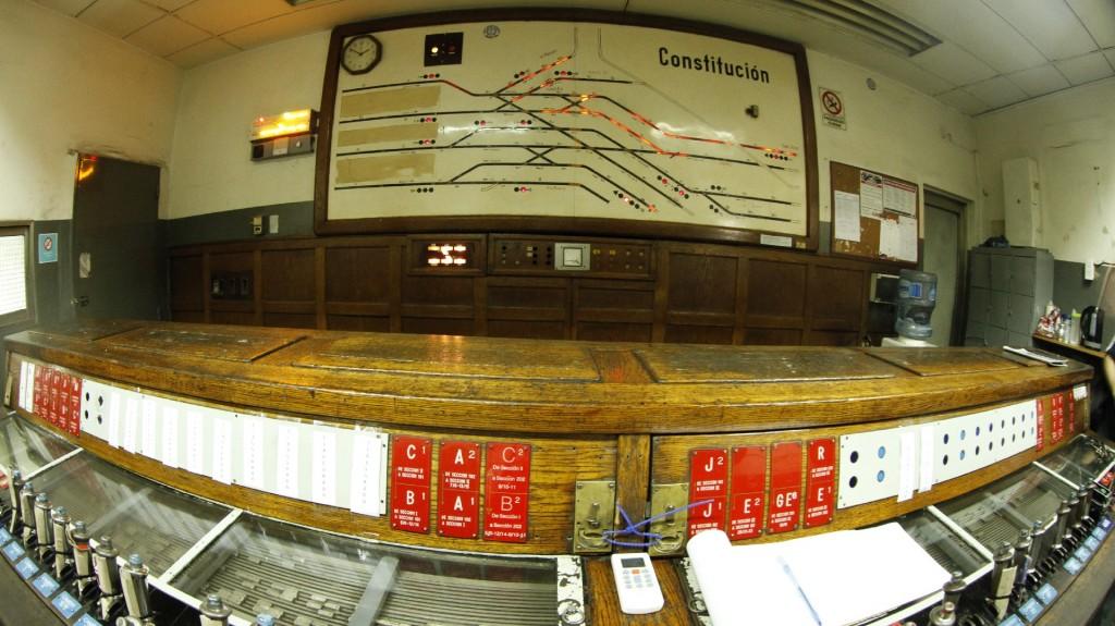 La sala de control devías data de 1934