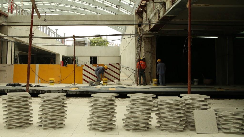 La estación incorporará un nuevo acceso desde la plazaque aportará luz natural