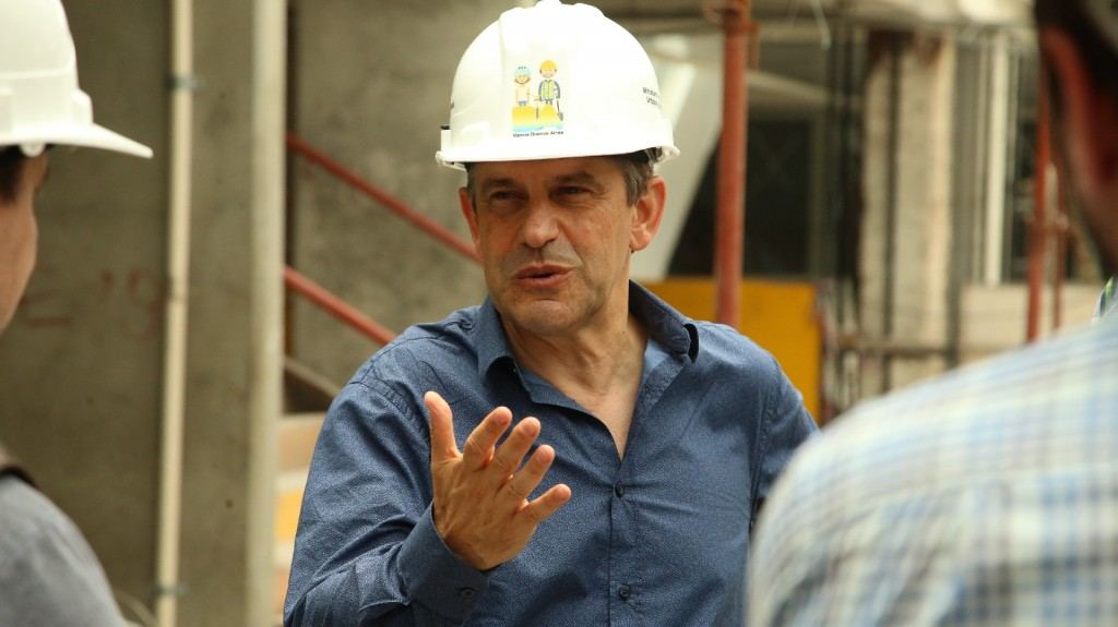 Franco Moccia, ministro de Desarrollo Urbano y Transporte de la Ciudad