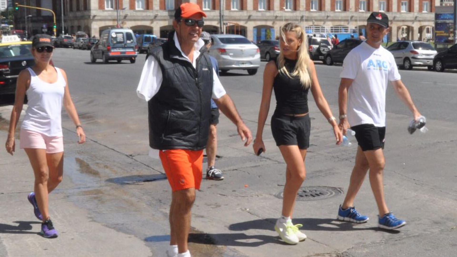 Daniel Scioli y Gisela Berger (Gentileza La Capital)