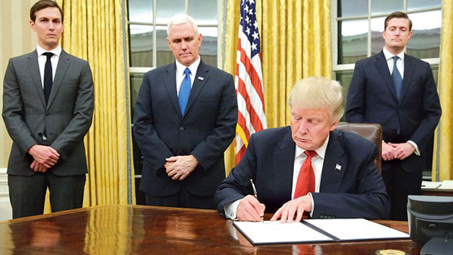 Donald Trump en el Despacho Oval de la Casa Blanca (Imagen de archivo)
