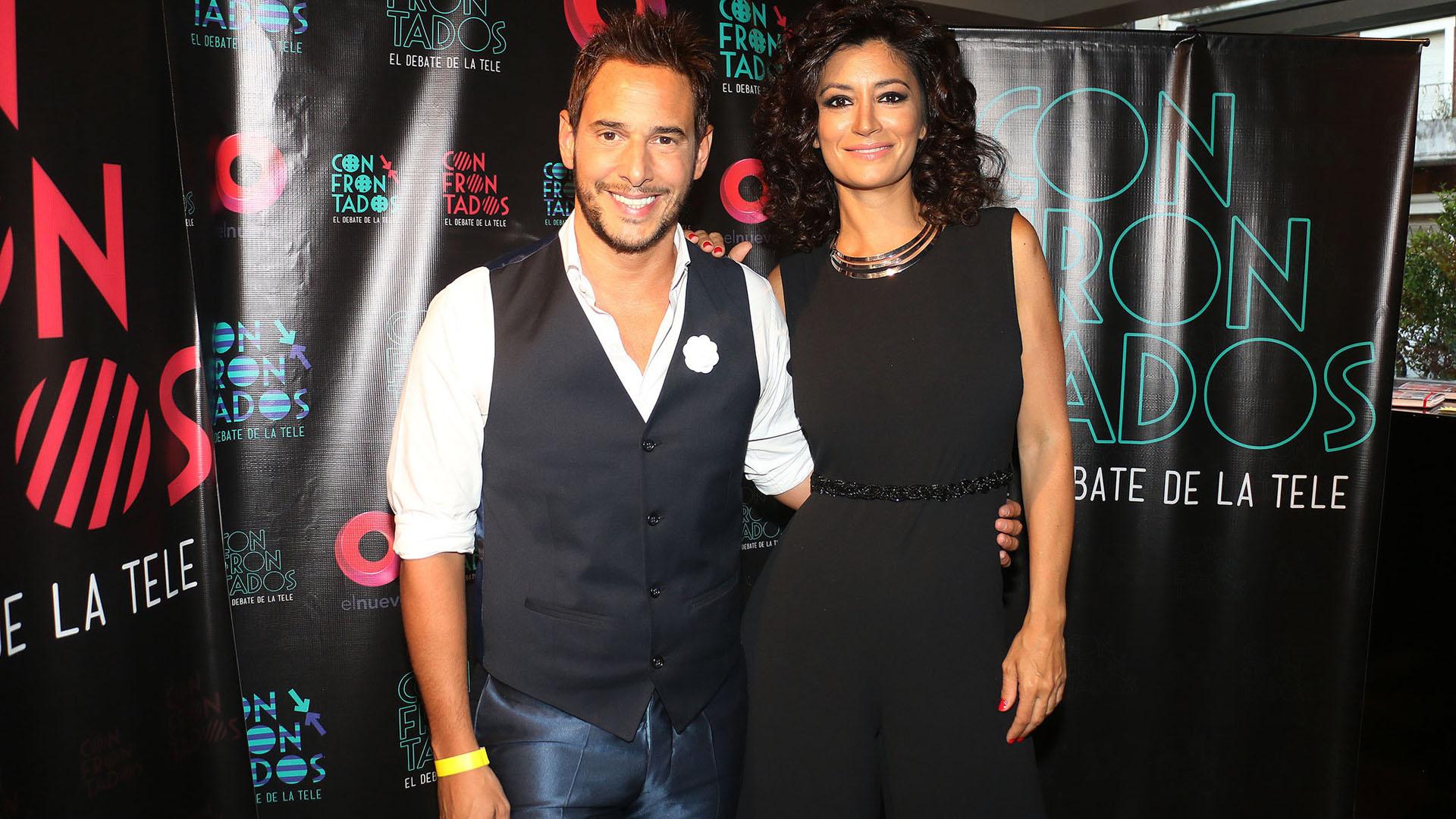 Rodrigo Lussich junto a Carla Conte