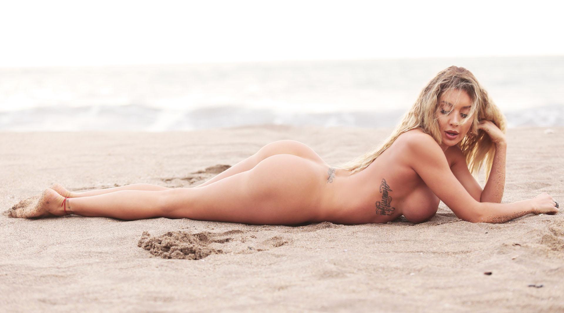 Desnudo en las fotos de la playa de gunnison
