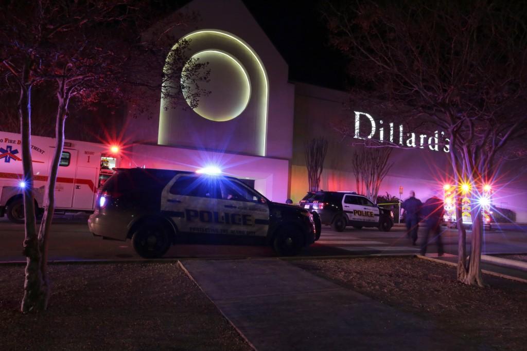 El centro comercial Rolling Oaks, en San Antonio (AP)