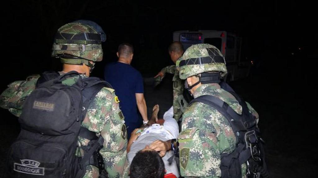 """""""La Muerte"""", jefe de sicarios del ELN (Foto: Ejército Nacional de Colombia)"""