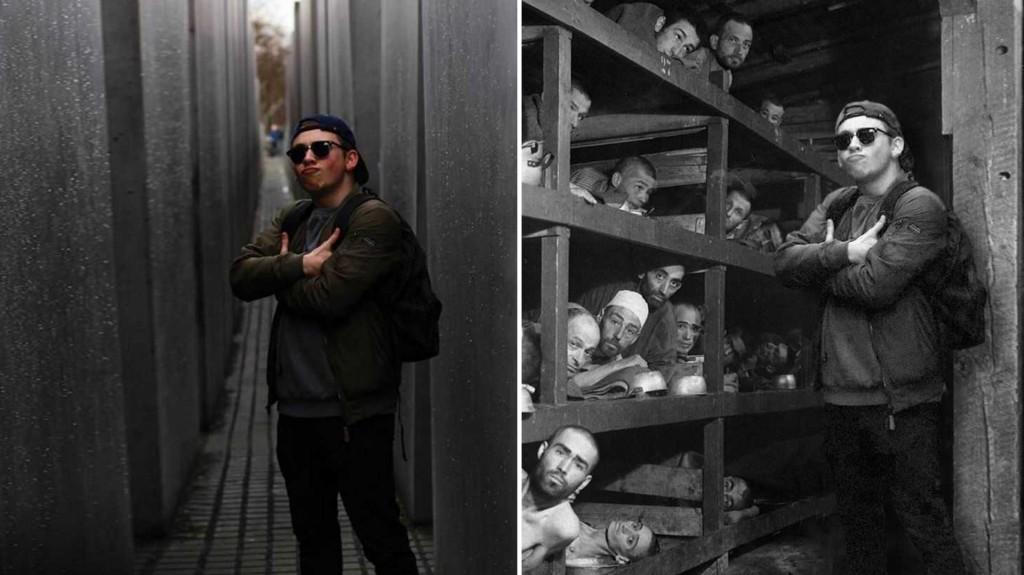 Yolocaust,artista satiriza gente que insulta el holocausto