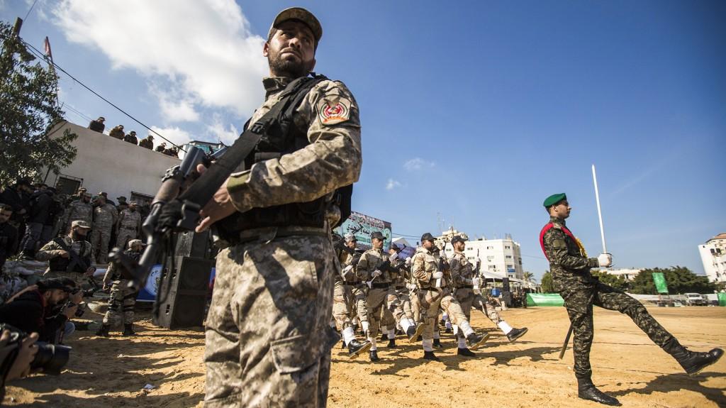Hubo también un férreo control de la seguridad durante el evento (AFP)