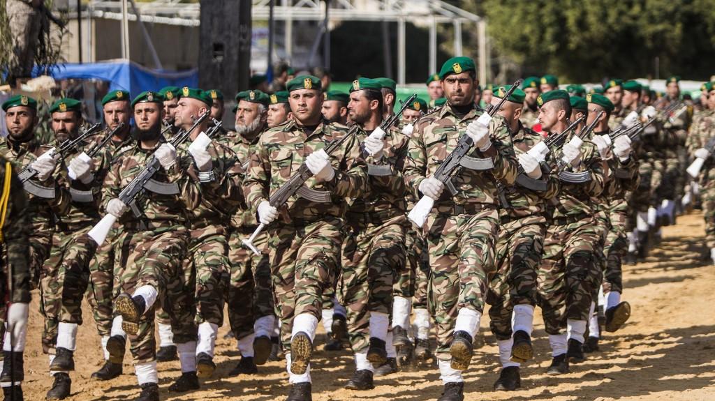 El grupo ha tenido que usar la fuerza para contener protestas en la Franja de Gaza, aquejada también por la falta deagua potable (AFP)