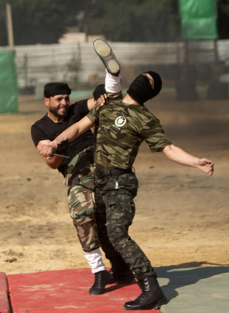 Las Brigadas Ezzeldin al Qassam son el brazo armado del grupo terrorista (AFP)