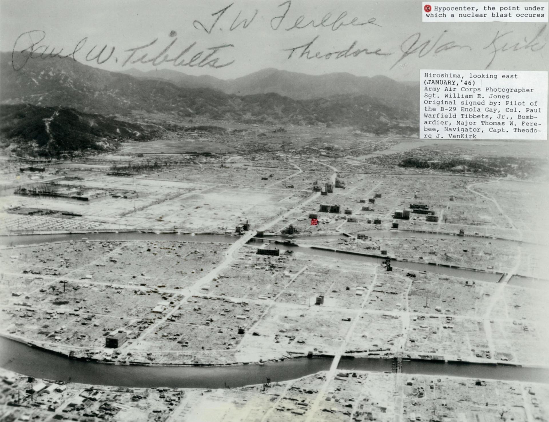 Hiroshima resultó arrasada, pero contrariamente a lo que se esperaba permaneció habitable y fue reconstruida