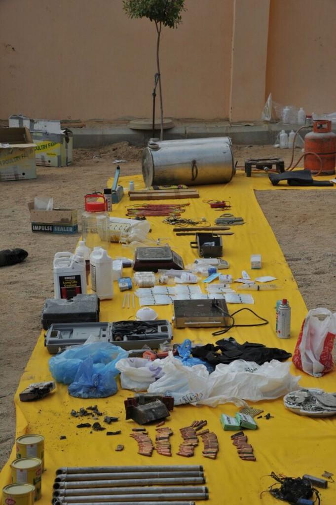 La célula yihadista planeaba ataques en Arabia Saudita