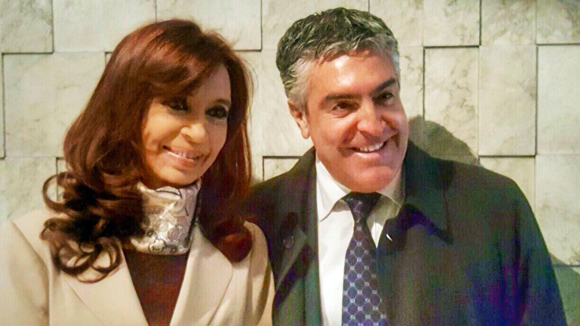 Gregorio Dalbon y Cristina Kirchner.