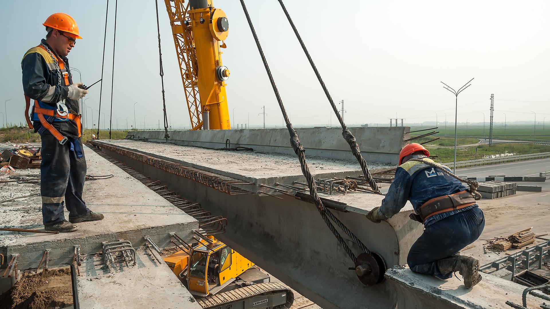 La obra pública da mayor impulso al crecimiento de la construcción. (Istock)