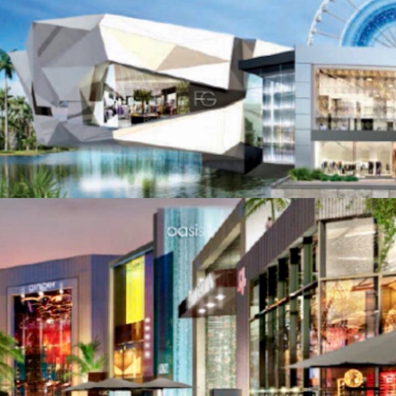 Recreaciones arquitectónicas proponen un espacio con inspiración futurista donde se pone el foco en las áreas comunes al aire libre para capitalizar el clima de Miami