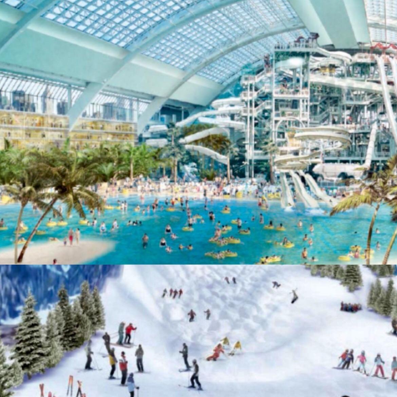 Un parque acuático sumado a una pista de esquí cubierta esperan atraer a familias que hoy día ven a Orlando como un destino obligado en lo que hace a entretenimiento para todas las edades
