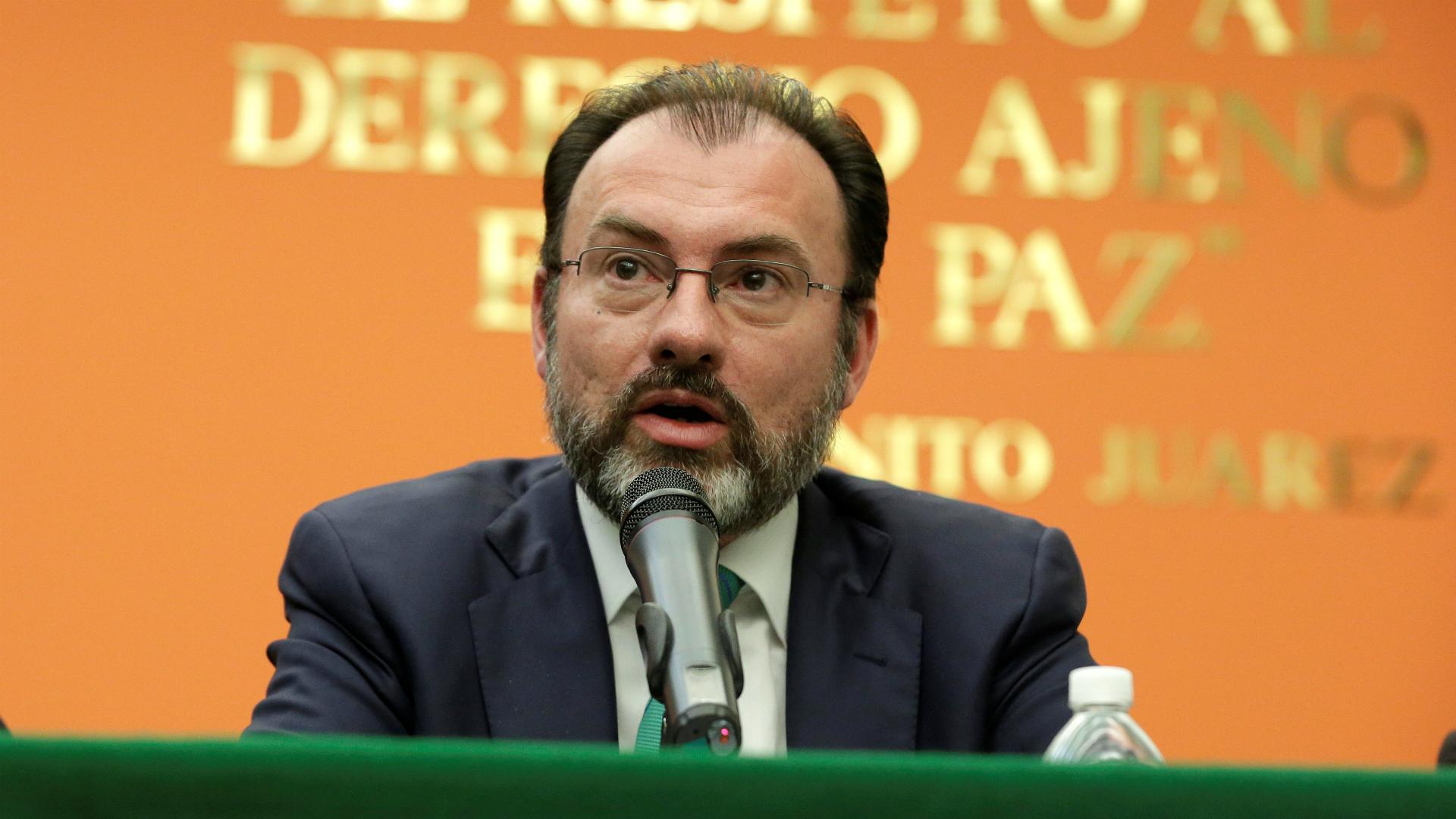 Luis Videgaray. (Reuters)