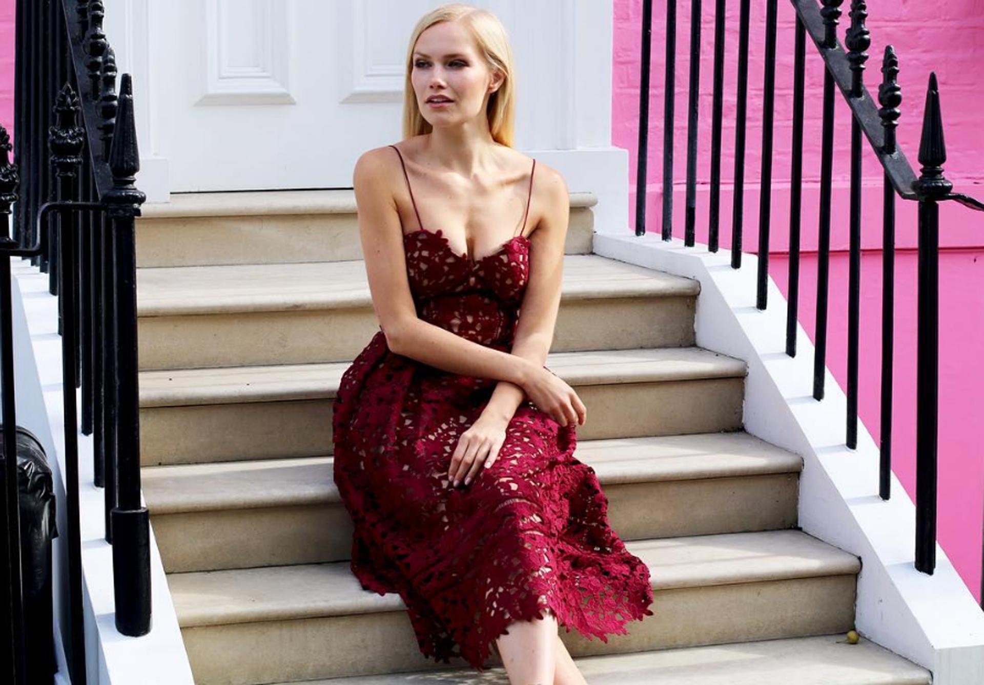 As mulheres modelos norueguesas mais belas sexys sensuais do Instagram fotos