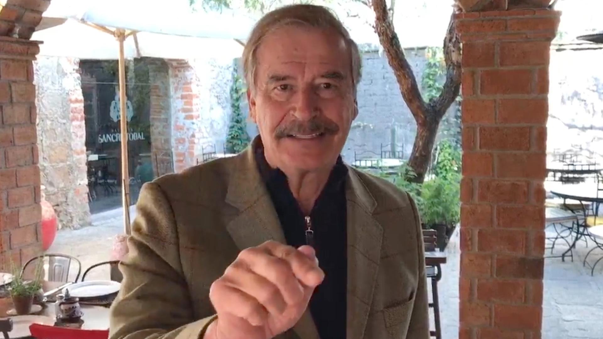 El mandatario despotricó en contra del actual presidente de México (Foto: Archivo)