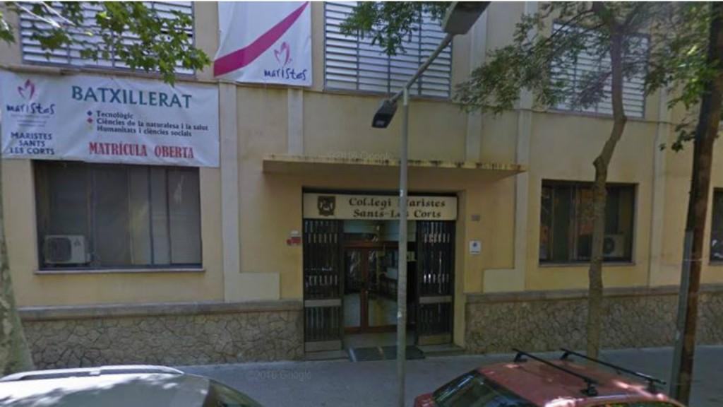 El colegio marista Sants-Les Corts, uno de los tres en Cataluña donde hubo denuncias de abuso sexual de menores