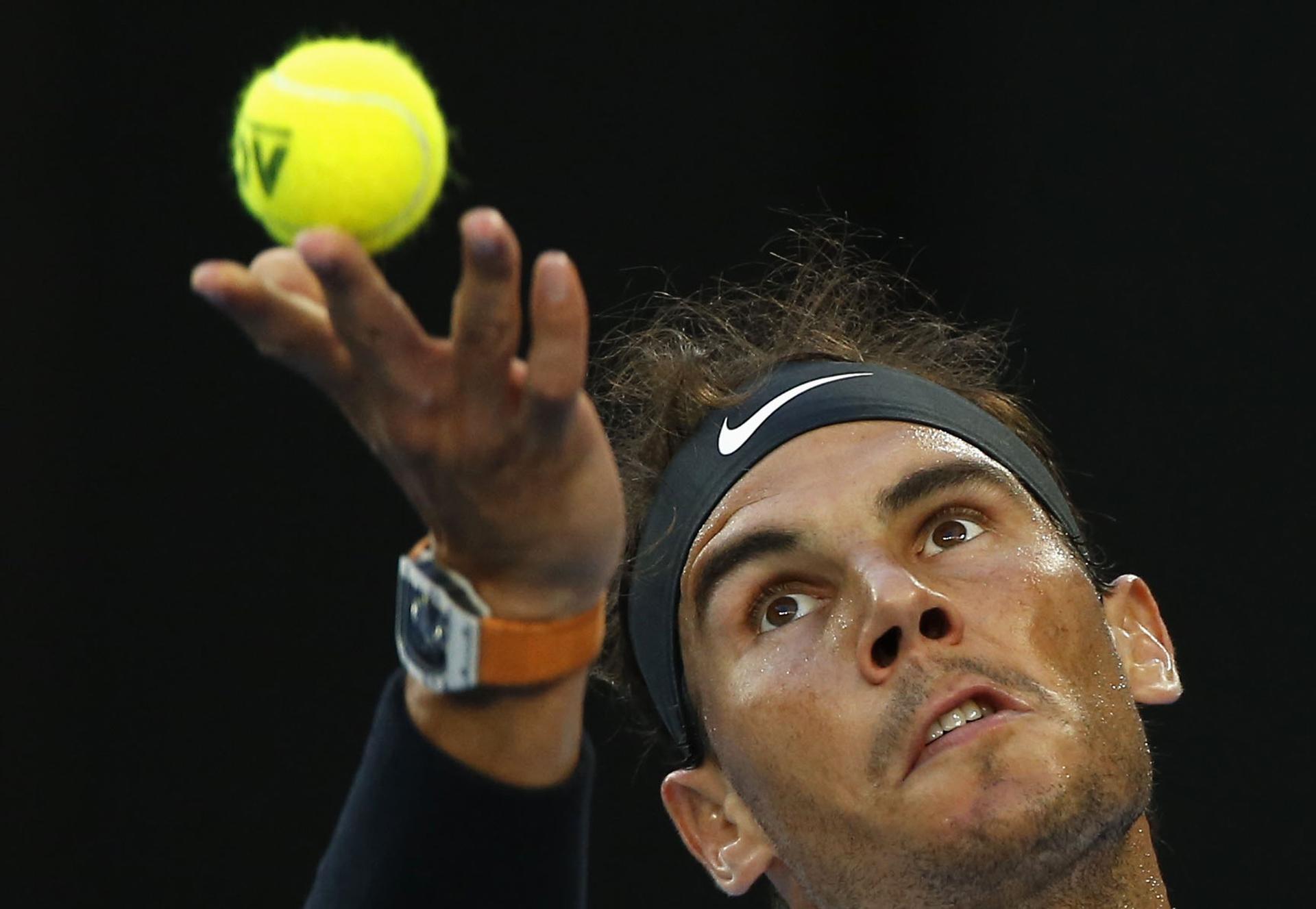 Rafael Nadal venció a Grigor Dimitrov para acceder a la final del Abierto de Australia