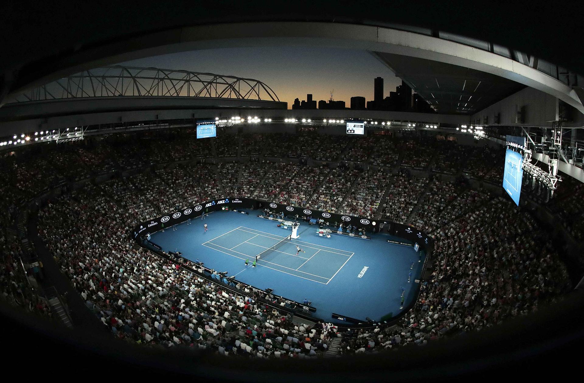 El Melbourne Park acogió la gran final enter Roger Federer y Rafael Nadal