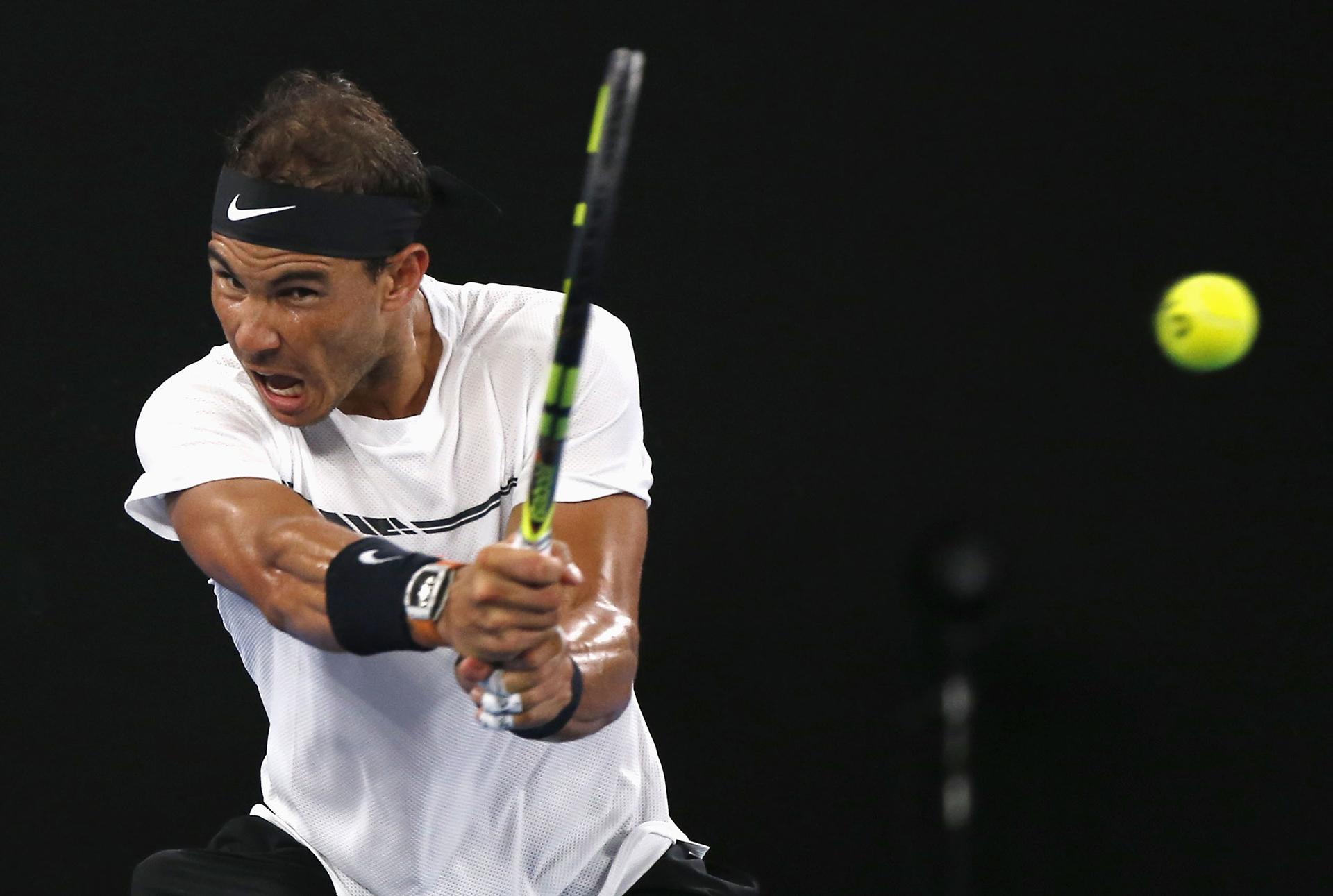 Rafael Nadal consiguió el segundo y cuarto set y estiró la definición al quinto