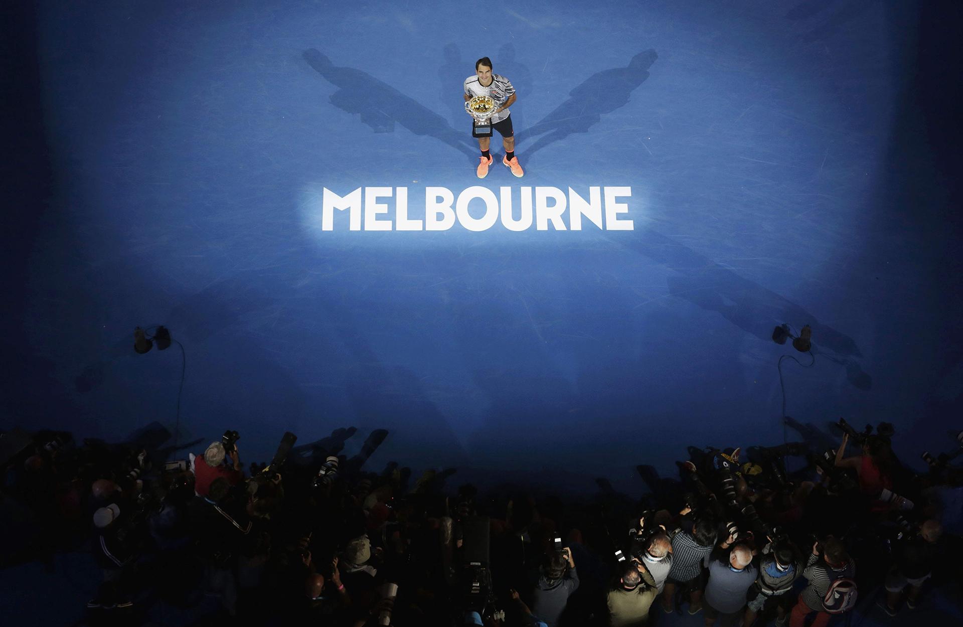 Roger Federer quedó con 18 títulos grandes mientras que en lo más alto se encuentra Margaret Court con 24