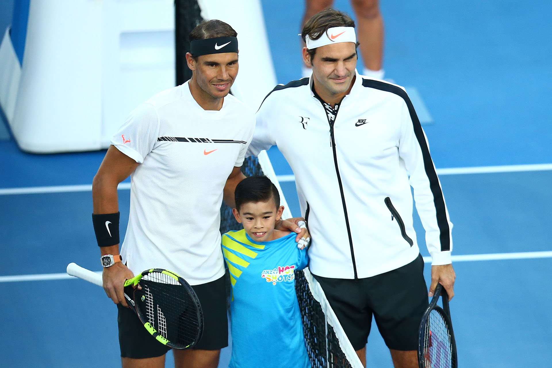 Los tenistas vuelven a enfrentarse después de un 2016 accidentado para ambos