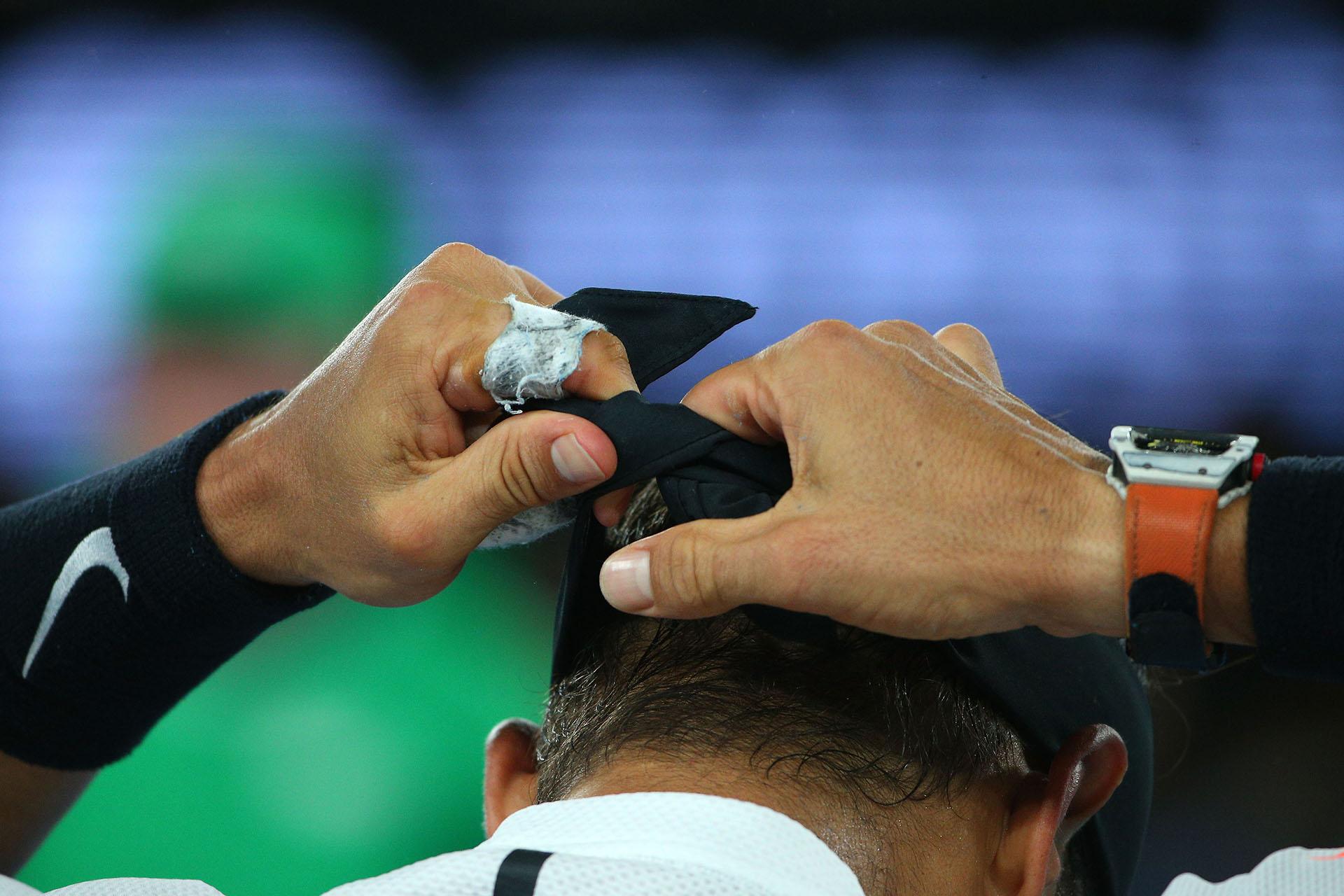 Rafael Nadal volvió al certamen y disputó su novena final de un Grand Slam con el suizo